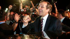 Partystimmung in Athen: Konservativer will Griechenland retten