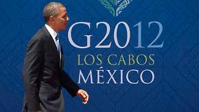 Anspannung beim Gipfeltreffen: Schuldenkrise dominiert G 20