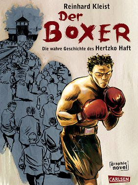 """""""Der Boxer"""" ist bei Carlsen erschienen, hat 200 Seiten (Hardcover, s/w) und kostet 16,90 Euro (D)."""