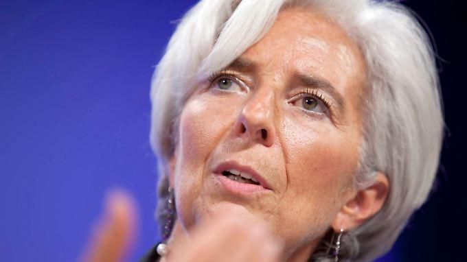 In der Krise muss Europa kreativ werden, findet IWF-Chefin Lagarde.