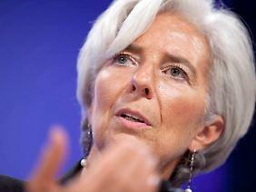 """IWF-Chefin Lagarde: Europa muss mehr tun. Die """"europäische Agenda ist unvollständig""""."""