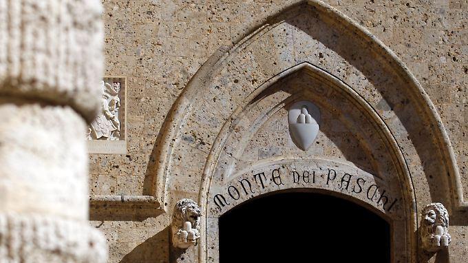 Viel Tradition und viele Probleme: Monte dei Paschi.