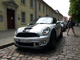 Ein kleiner Terrier mit Silberblick: Für viele Männer ist der Mini ein Frauenauto.