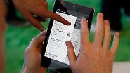 Amazon und Apple im Visier: Google greift mit dem Nexus 7 an
