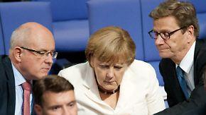 """""""Europäische Idee gefährdet"""": Westerwelle gegen Euro-Bonds"""