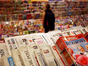 Die Wirtschaftskrise trifft Verleger und Werber hart.