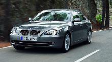 Macht Prüfern und Fahrern kaum Sorgen: der 5er BMW, der sowohl in der ADAC-Pannenstatistik als auch bei der Hauptuntersuchung überdurchschnittlich gut abschneidet.