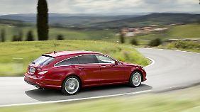 Mercedes will sich ab Herbst 2012 mit dem CLS in der Nische etablieren.