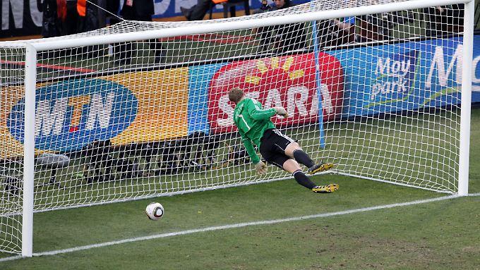 Und England war entsetzt: Der Treffer gegen Deutschland bei der WM 2010 zählte nicht.