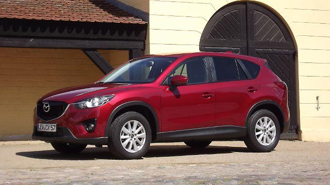 Der neue CX-5 betritt bei seinem Debüt Ende April als Spätzünder die Bühne der Kompakt-SUV.