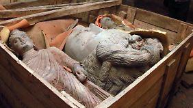Das Königreich Gandhara, aus dem die buddhistischen Skulpturen stammten, existierte vom 1. Jahrtausend v. Chr. bis ins 11. Jahrhundert.