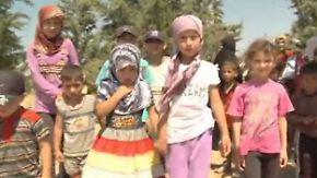 Zehntausende Syrer auf der Flucht: Reporter berichtet aus Grenzgebiet