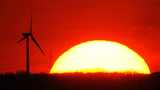 Zuwächse verzeichneten die Statistiker vor allem bei der Windkraft und der Photovoltaik.