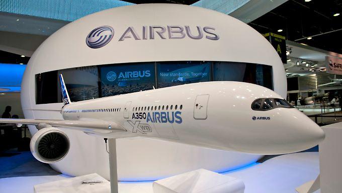 Die Markteinführung des A350 soll ohne Zwischenfälle über die Bühne gehen.