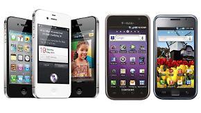 Apple vs. Samsung: Unternehmen zanken um Millarden-Schadenersatz