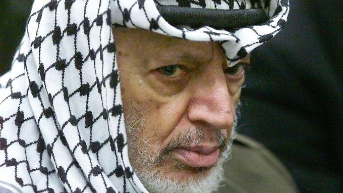 Jassir Arafat bekam für seine Rolle als Palästinenserpräsident im Nahost-Konflikt den Friedensnobelpreis.