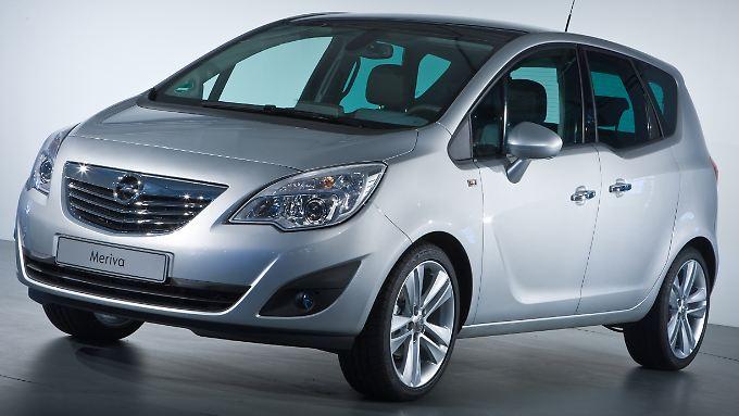 """Opel will mit dem Meriva einen """"Champion der Flexibilität"""" bauen."""