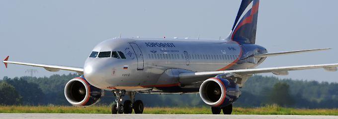 Aeroflot hat sich vom Schluss- ins Mittelfeld hochgearbeitet. (Airbus A319 der Aeroflot)