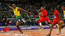100-Meter-Spektakel in London: Bolts Show dauert 9,63 Sekunden
