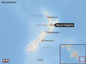 Ein schlafender Riese beherrscht Neuseelands Norden: Vulkanexperten halten den Tongariro und seine Brüder genau im Auge.