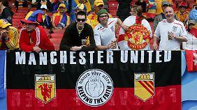 Manchester United hat bei seinem Börsengang deutlich weniger Geld eingespielt als erhofft.