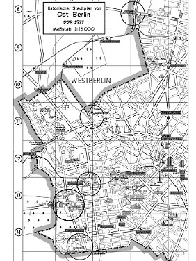 Die Mauer durchzog die ganz Stadt - fünf markante Orte werden in dem Comic vorgestellt.
