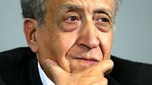 Lakhdar Brahimi hat eine fast unlösbare Aufgabe vor sich.