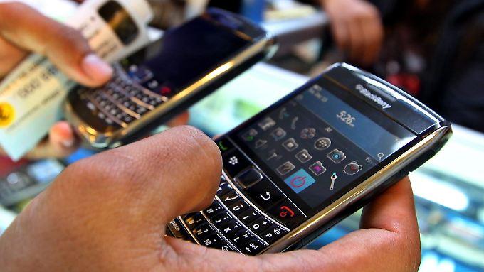 Blackberrys verkaufen sich schlecht.