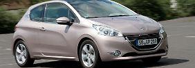 Vielfalt auf französisch: Aus je fünf Benzin- und Dieselvarianten können die Kunden wählen.