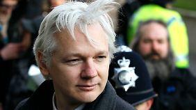 Assange erhält Asyl in Ecuador. Unklar ist, wie er dahin gelangen soll. (Archivbild.)