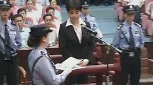 Wenn sich Gu gut führt, wird ihre Todesstrafe in eine normale Haftstrafe umgewandelt.
