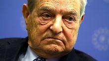 George Soros: ein Investment-Schwergewicht.