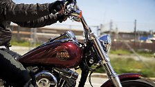Keep on rolling: Harley rockt auch 2013