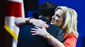 Lobeshymne der Gattin: Republikaner küren Romey