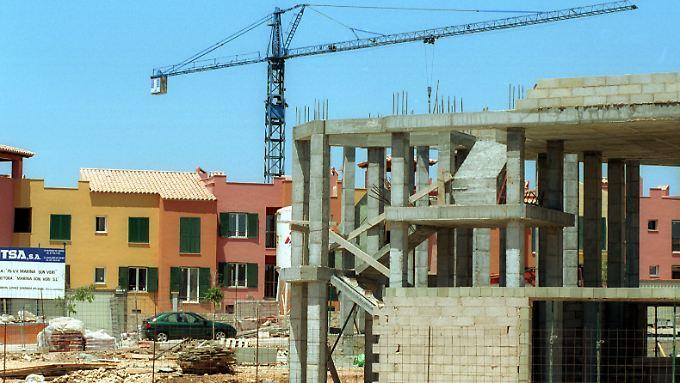 Vor allem auf dem Bau fanden viele Spanier neue Jobs.
