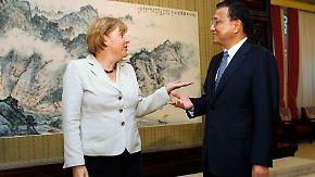 Wirtschaftspartner China: Merkel wirbt in Peking um Vertrauen