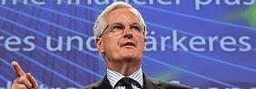 """""""Wir werden die Notenbank mit allen erforderlichen Instrumenten ausstatten"""": Michel Barnier (Archivbild)."""