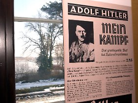 Hitler hatte das Buch während seiner Festungshaft 1924 geschrieben.