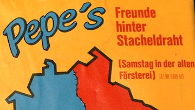 """""""Freunde hinter Stacheldraht"""": das Cover zur Single."""