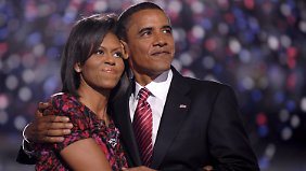 Nominierungsparteitag der US-Demokraten: Obama setzt auf Gattin Michelle