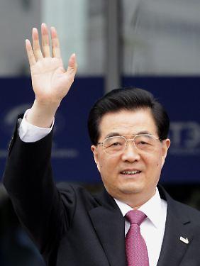 Der chinesische Staatspräsident Hu Jintao auf dem asiatisch-pazifischen Wirtschaftsgipfel.