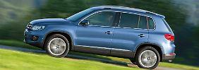 Der VW Tiguan zählt zu den üblichen Verdächtigen der Segmentbesten.