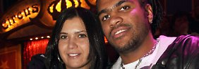 Breno und Renata bei der Bayern Circus-Gala 2008. Nach der Haft muss Breno damit rechnen, aus Deutschland abgeschoben zu werden.