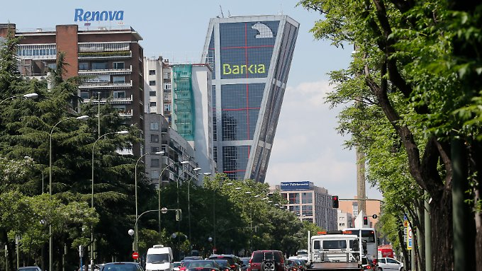 Bankia-Zentrale in Madrid.