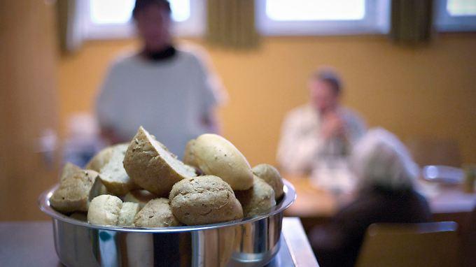 In einer Suppenküche des Diakonischen Werks in Hannover.