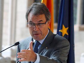 Kataloniens Regierungschef Artur Mas.