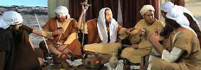 Mohammed und die ersten Muslime werden in dem Film als barbarische Bande dargestellt.