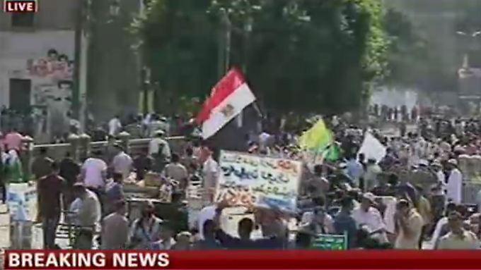 Livebild aus Kairo