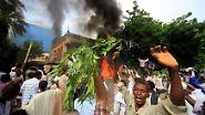 Proteste von Marokko bis Indonesien: Mob stürmt deutsche Botschaft im Sudan