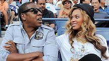 Beyoncé und ihr Ehemann Jay-Z  haben zu einem Obama-Spenden-Abend in New York eingeladen. (Archivbild von 2011)